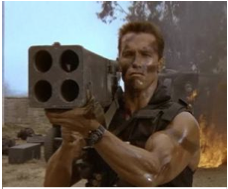 Take Arnie's advice - go shoulder mounted!