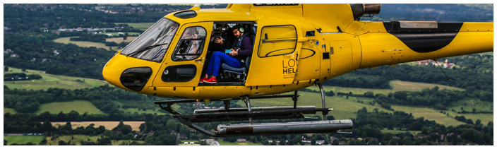 Tom in Heli Filming